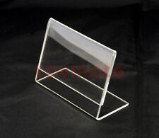 Porta locandina / foto IN PLEXIGLASS formato A4 orizzontale - confezione 5 pezzi