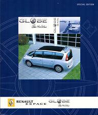 Renault Espace Globe Ellen MacArthur Limited Edition 2005 UK Market Brochure