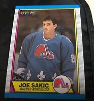 1989-90 OPC Joe Sakic Rookie #113 Quebec Nordiques RC Mint