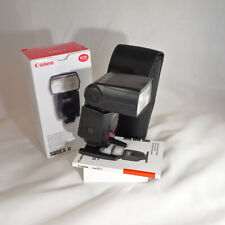 Canon Speedlite 580 EX II Digital Flash *BOXED GOOD CONDITION* | UK CANON DEALER