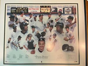New York Yankees 1998 Dream Season Lithograph signed by Artist & Joe Giradi COA