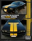 Dodge Challenger 2008-2021 Rally Double T-Stripes Decals (Choose Color)  for sale