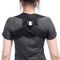 Comfortable Children Adult Poor Posture Back Shoulder Support Corrector Belt NEW