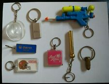 Vintage Keychains - Mixed Lot Of 8
