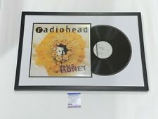 THOM YORKE SIGNED FRAMED PABLO HONEY RECORD DISPLAY RADIOHEAD  PSA/DNA COA