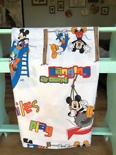 Mickey Mouse Clubhouse Twin Top Flat Sheet And Case Cotton Blend Fabric Craft