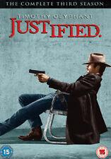 JUSTIFIED - SEASON 3 - DVD - REGION 2 UK