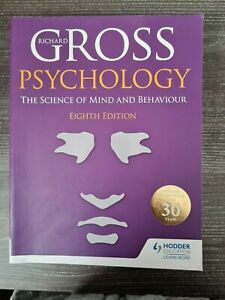 Richard Gross The Science of mind and behaviour 8th edition