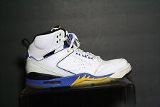 Nike Air Jordan Sixty 60 + Laney Sneaker '09 Multi White Black Blue Men 10.5 Hip
