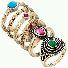 Avon enya ring set of 6 rings