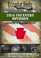28th Infantry Division in Western Europe World War II DVD Video
