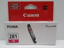 Canon Pixma CLI-281 M Magenta Ink Genuine OEM New Sealed Cartridge
