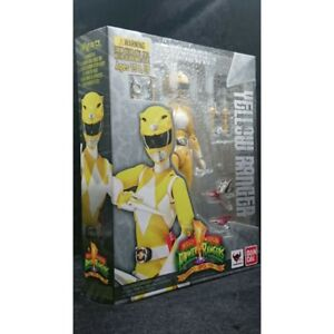 NEW Authentic Yellow Tiger Ranger Mighty Morphin Power Rangers S.H.Figuarts