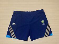 Adidas Cricket Australia Shorts Mens ~ XXL 2XL ~ Great Cond w/ Pocket Team Issue
