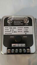 """Omega differential pressure transmitter PX653-25D5V - 25""""WC, 36V"""