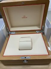 Authentic Omega Wood Watch Box - Excellent Condition.