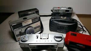 Vintage Cameras BULK LOT Konica Konishiroku and Others- 6 in total