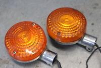 HONDA 1981 CB650 CB750 79-81 CX500D FRONT LEFT RIGHT TURN SIGNALS LIGHTS