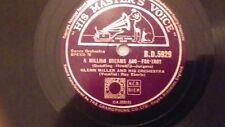GLENN MILLER 78. 'A million dreams ago' & 'Starlit Hour'
