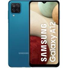"""SAMSUNG GALAXY A12 BLUE 128GB ROM 4GB RAM DUAL SIM AMDROID DISPLAY 6.5"""" HD"""