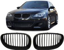 BLACK BONNET GRILLS GRILL FOR BMW E60 & E61 5 SERIES SALOON & ESTATE 2003-2010