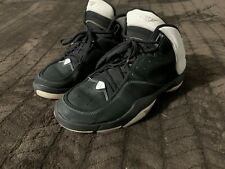jordan melo m4 shoes size 11 mens. black suede 2008