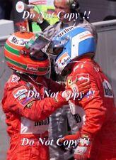 Eddie Irvine & Mika Salo Ferrari F1 Portrait German Grand Prix 1999 Photograph
