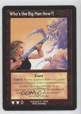 1996 Shadowfist Collectible Card Game - #NoN Who's the Big Man Now?! Gaming 0b5
