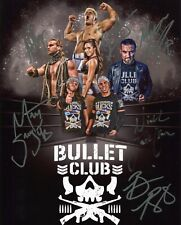THE BULLET CLUB AUTOGRAPHED 8x10 PHOTO WWE ROH ECW NXT CODY YOUNG BUCKS #ALLIN