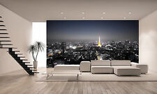Monochrome Tokyo Night Wall Mural Photo Wallpaper GIANT DECOR Paper Poster