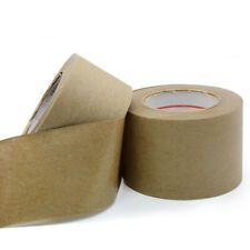 Brown Kraft Paper Gummed Tape Reinforced Water Activated Sealed Carton Tape 30m