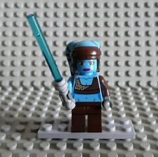 LEGO STAR WARS # Aayla Secura-blauhäutige Jedi personaggio di Set 8098 # = Top!