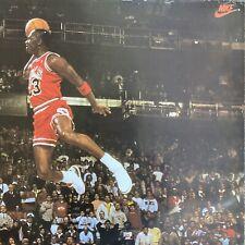 Vintage 1992 Nike Michael Jordan Chicago Bulls Poster Rare