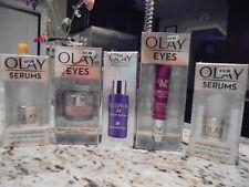 5 New OLAY RETINAL Night Serum/Eyes Ultimate/Eyes Bags/Pressed Serums $110