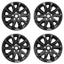 "17"" Black Wheel Skins Hubcaps (4 PCS) FOR 2018 2019 Chevy Equinox L / LS / LT"