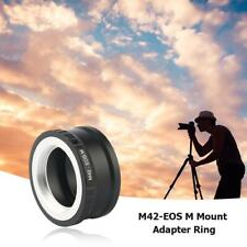 M42-EOS M Mount Adapter Ring for M42 Lens to Canon EF-M Mirroless Camera