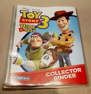 Toy Story 3 Hide & Seek Trading Cards Collection Master Set & Collectors Album