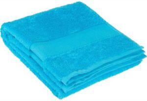 100% Cotton  Extra Large Oversized Bath Towel Turquoise Blue Bath Sheet 35x70