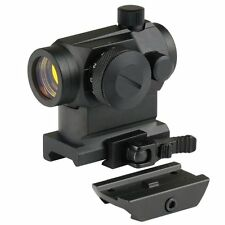 BeamQ Tactical Micro Reflex Red Dot Scope Sight with QD Quick Riser Mount