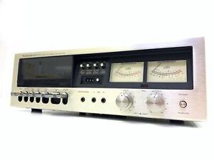 TECHNICS RS-630U Stereo Cassette Deck Vintage 1976 Refurbished Working Good Look