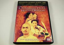 Crouching Tiger, Hidden Dragon Dvd Chow Yun-fat, Michelle Yeoh, Zhang Ziyi