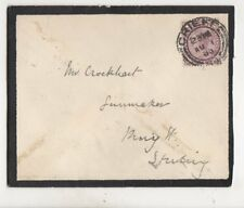 Crieff [84] Postmark 1 Aug 1900 QV Cover Crockhart Sturting 434b