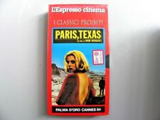 "VHS VIDEOTAPE "" PARIS, TEXAS "" A MOVIE BY WIM WENDERS 1984"