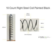 Vending machine coils / springs 10 count spiral right