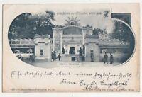 Urania Theater Jubilaeums Ausstellung Wien 1898 Austria U/B Postcard 751b