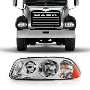 <Left Driver Side> For Mack Vision Pinnacle CX CXU CXN GU4 GU5 GU7 GU8 Headlight