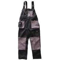 Work Bib and Brace Overall Protective Pants Trousers Dungarees Clothes