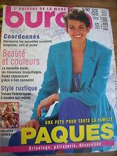 MAGAZINE BURDA TENDANCES STYLE RUSTIQUE / TENUES FOLKLORIQUES   03 /1997