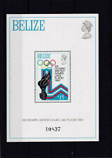 Belize 1980 - 13TH WINTER OLYMPIC GAMES LAKE PLACID / Block 13