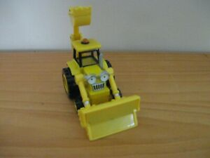 Bob The Builder Diecast Vehicle SCOOP Yellow Loader Learning Curve